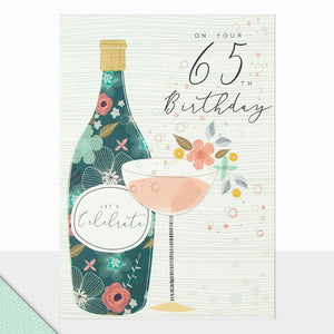 Single Age 65 Card (including UK postage)