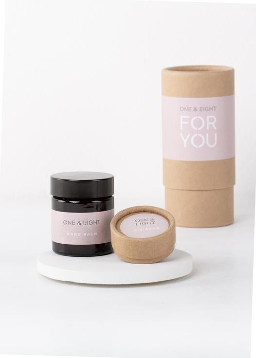 For You Lip & Hand Balm Gift Set