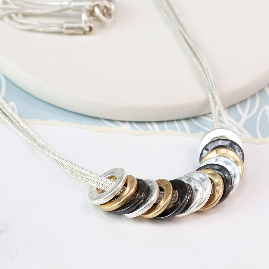 Multi Hoop Necklace