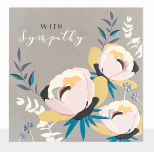 Pack of 3 Sympathy Cards (Including UK P&P)