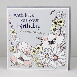 Pack of 3 Birthday Cards (Including UK P&P)