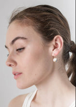 Load image into Gallery viewer, Ray Porcelain & Slate Earrings