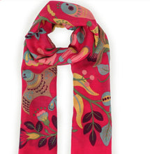 Load image into Gallery viewer, South American Floral Print Scarf