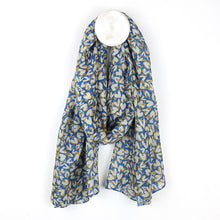 Load image into Gallery viewer, Cornflower Blue Recycled Scarf