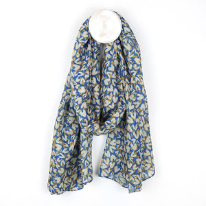 Cornflower Blue Recycled Scarf