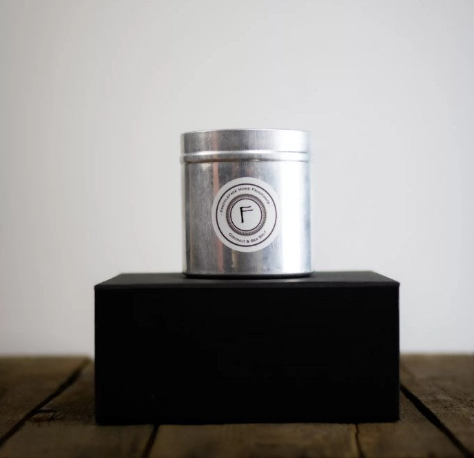 Coconut & Seasalt Luxury Candle Tin