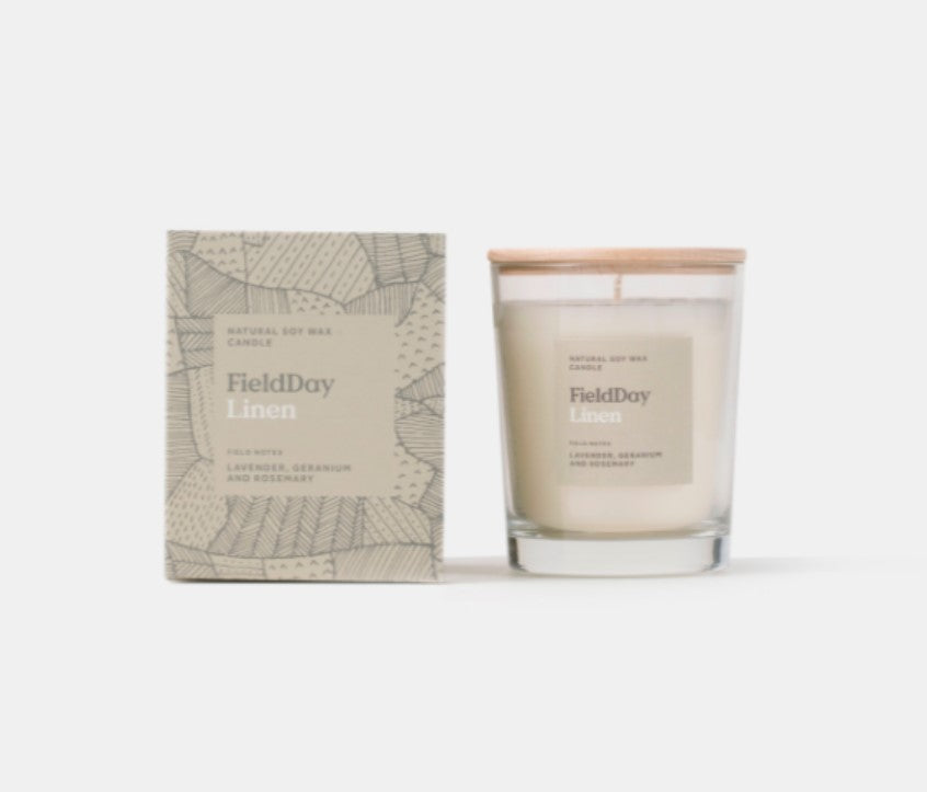 Linen Candle by Field Day