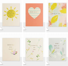 "Load image into Gallery viewer, Set of 6 Small ""Piccolo"" Cards (Including UK P&P)"