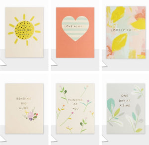 "Set of 6 Small ""Piccolo"" Cards (Including UK P&P)"