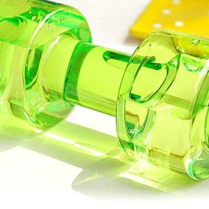 754_Dumbbell Water Bottle (750 ml) Gym Water Bottle