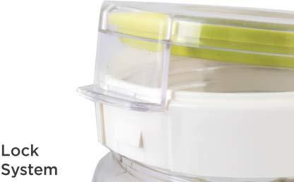 735 TIK Tak Plastic Airtight Ovel 1.4 Litre Containers