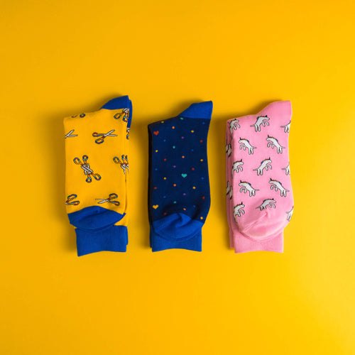 3 Socks Set (Save 10%)