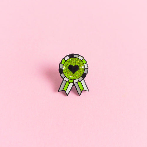 Agender Award Badge — enamel pin