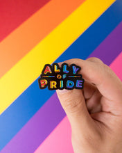 Load image into Gallery viewer, Ally of pride — enamel pin