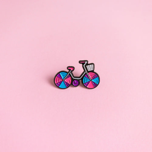 Bicycle — enamel pin