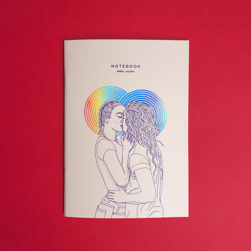[NEW] Women in love (rainbow foil) notebook