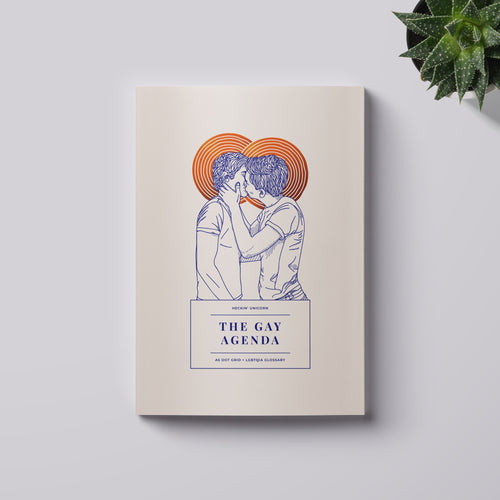 The Gay Agenda: Men in love notebook