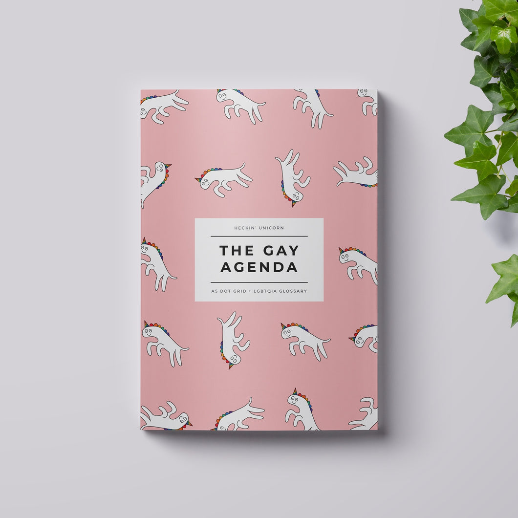 The Gay Agenda: Unicorn notebook
