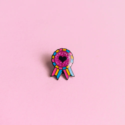 Pansexual Award Badge — enamel pin