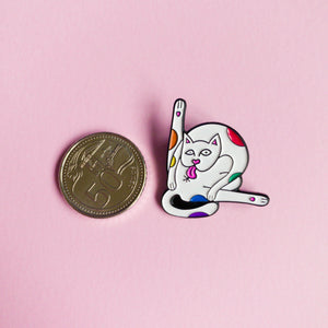 Kitty lover — enamel pin