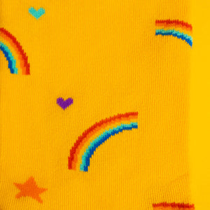 Rainbows & stars — socks