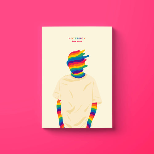 I'm a rainbow notebook