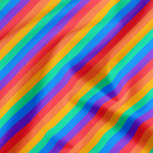 Load image into Gallery viewer, Rainbow stripes — Pet Pride Bandana