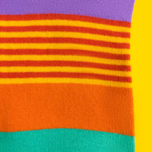 Load image into Gallery viewer, Rainbow stripes — socks