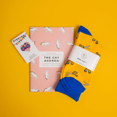 1 Sock + 1 Notebook + 1 Pin Set (Save 12%)