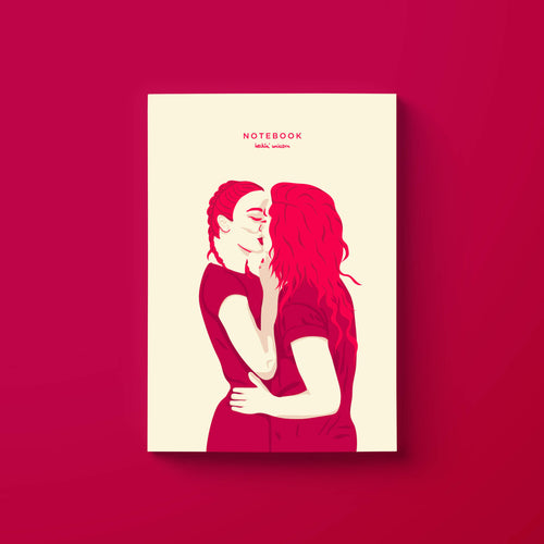 Women in love (minimalist) notebook