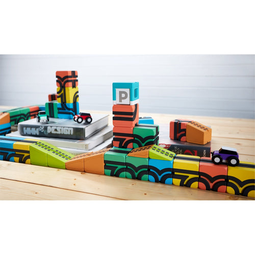 QBi Toy - Magnetic Modular Block Toys - D2 Direct