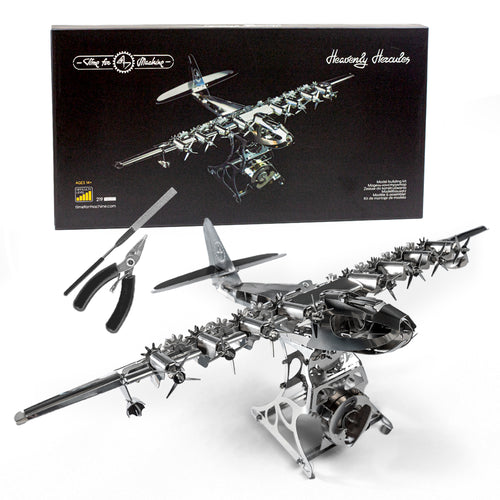 Heavenly Hercules™ Scale Model Airplane Model Kit - D2 Direct