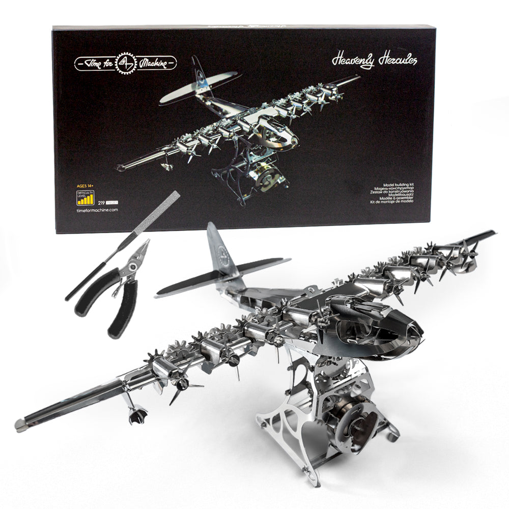 Heavenly Hercules™ Scale Model Airplane Model Kit Comes With Free Gift - D2 Direct
