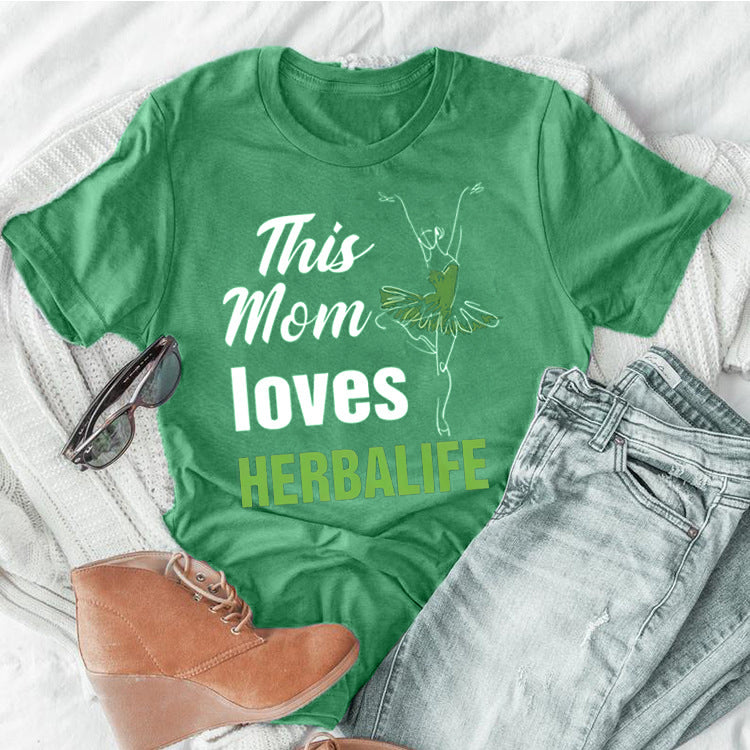 Gift For Mom - Mom shirt - This Mom Loves Herbalife