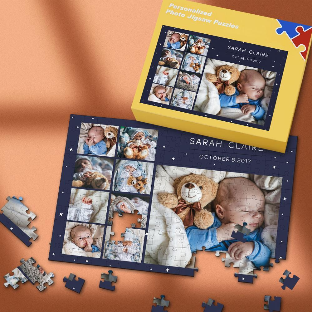 Custom Photo Puzzle Gift for Baby 35-500 Pieces