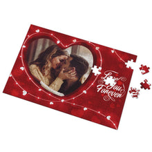 Custom Love You Forever Photo Puzzle 35-500 Pieces
