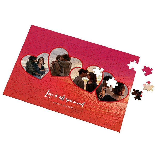 Love Is All Your Need Custom Photo Puzzle 35-500 Pieces