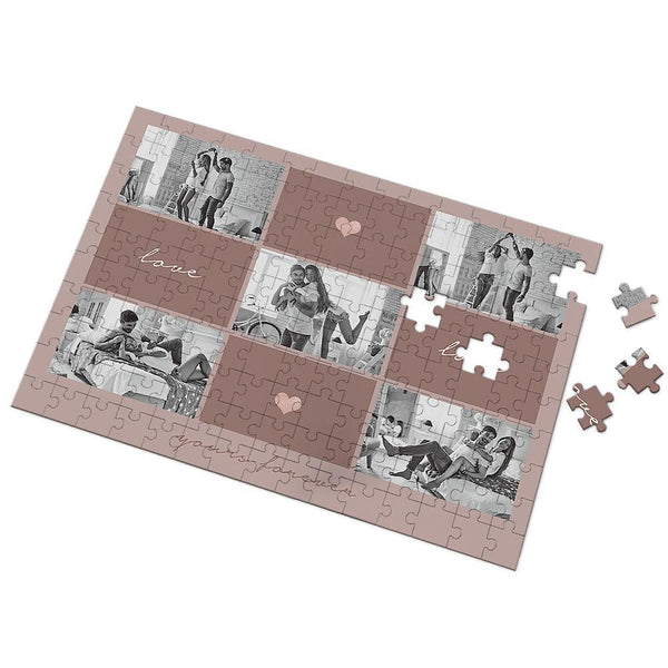 Custom Photo You Are My Love Puzzle  35-500 Pieces