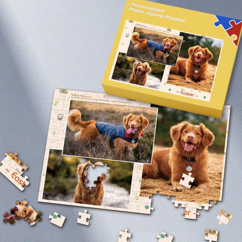 Cute Pet Custom Photo Puzzle 35-500 Pieces