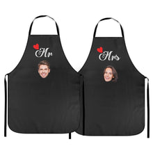 Custom Kitchen Cooking Apron with Couple Apron