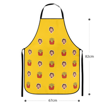 Custom Face Apron - French fries