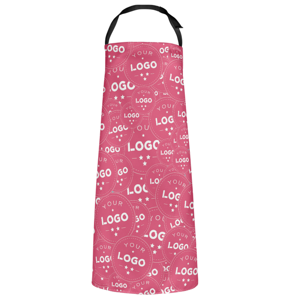 Custom Kitchen Apron With your Personalized Multiple Logo Full Coverage
