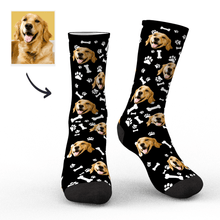Photo Socks, Custom Dog Face Socks