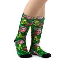 Christmas Custom Gifts Cartoon Socks