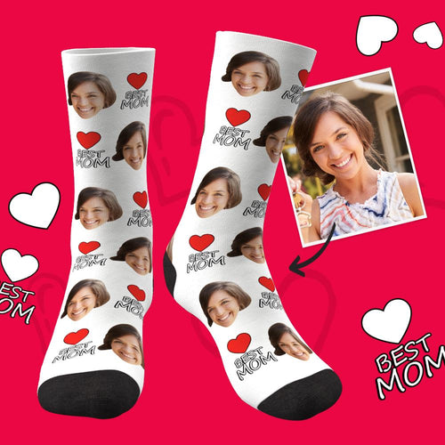 Custom Face Socks Best Mom Gifts For Mom