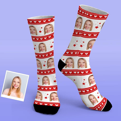 Custom Photo Socks Best Personalized Gifts Love Socks