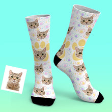 Custom Photo Socks Pet Lovers Personalized Gift