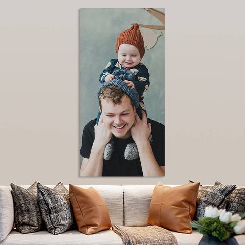 Custom Photo Canvas Prints(23.62 x 47.24in - 60*120cm)