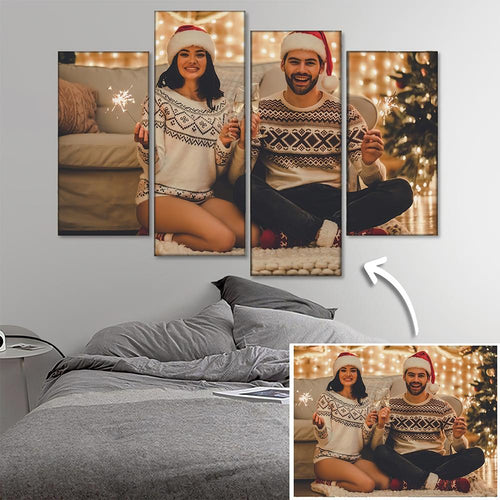 Custom Canvas Prints 5pcs Contemporary Family Gifts