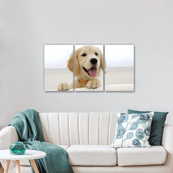 Custom Photo 3pcs Contemporary Canvas Prints for Living Room